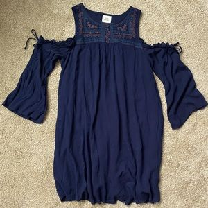 Knox Rose Cold Shoulder Mini Dress